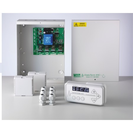 Heating Controls -  Dataterm IHC Multizone 2 - Wireless Sensors Now Available!