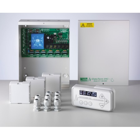 Heating Controls -  Dataterm IHC Multizone 3 -  Wireless Sensors Now Available!